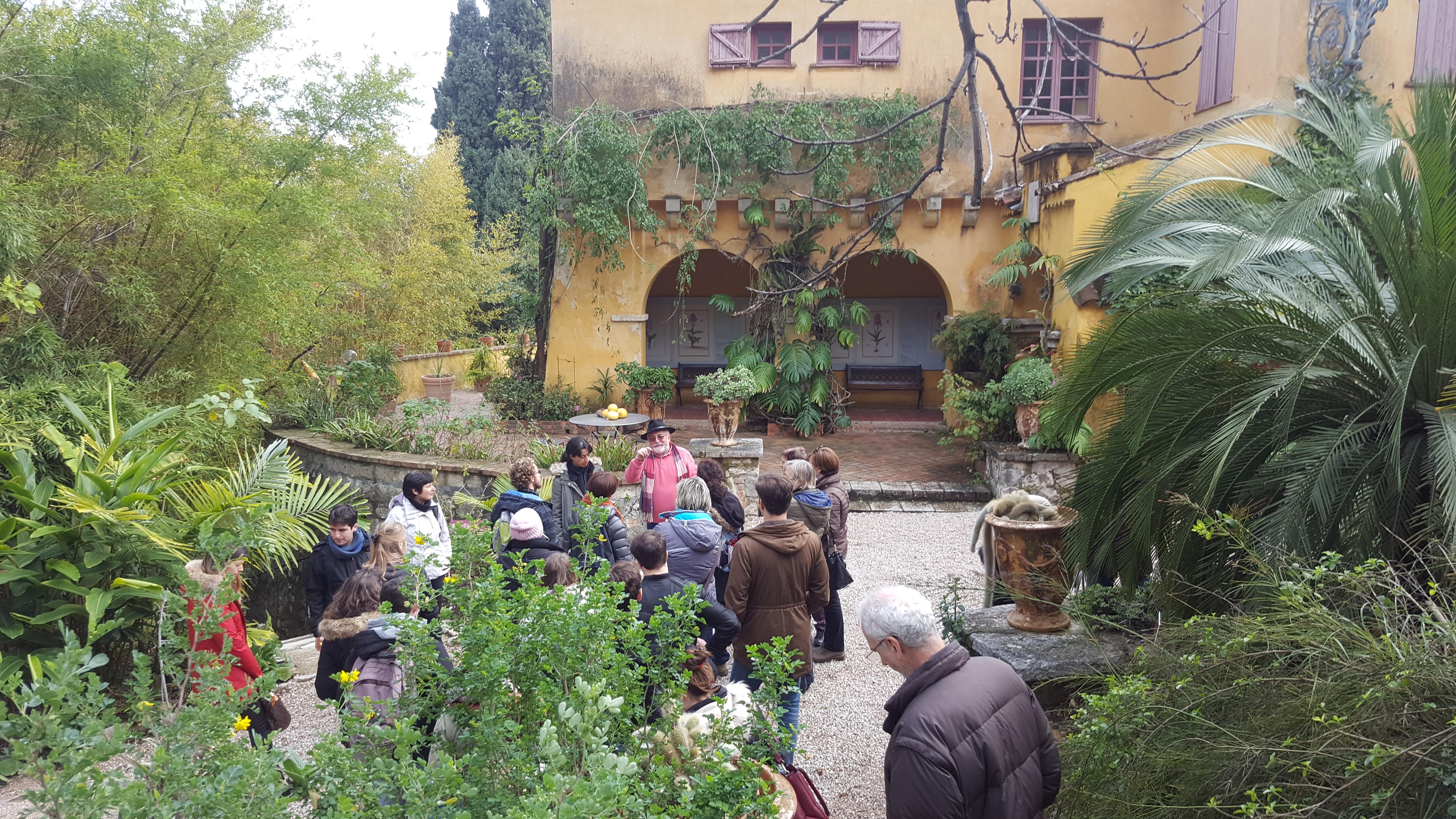 Activités au Jardin botanique Hanbury, les audi...